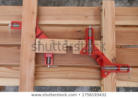 Builder holding clamp Stock photo © photography33