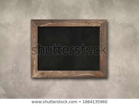 Chalkboard Blackboard ストックフォト © Daboost