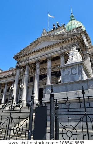 конгресс Аргентина улице подписать здании Буэнос-Айрес город Сток-фото © Spectral