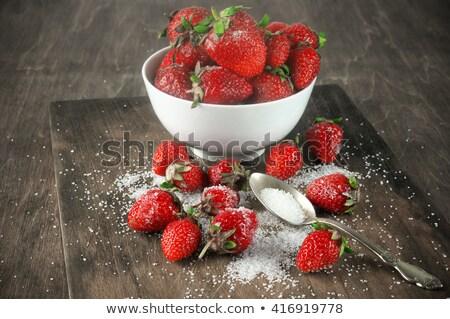 sugared strawberries Stock photo © photohome