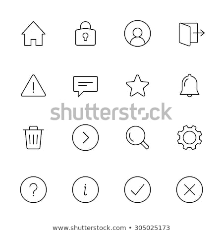 Checked/canceled user Stock photo © carbouval
