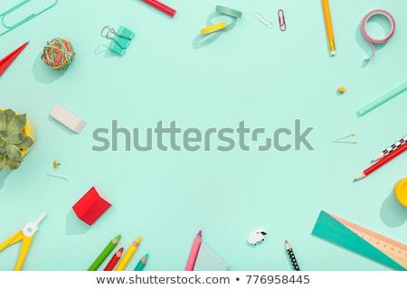 Back to School note Stock photo © stevanovicigor