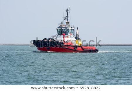 river shannon tug boat Stock photo © morrbyte