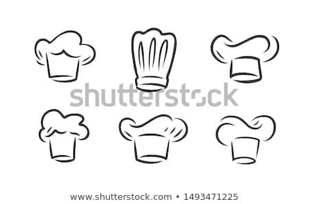 geïsoleerd · witte · voedsel · keuken · mannen - stockfoto © konturvid