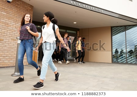 teenage boy leaving high school Stock photo © photography33