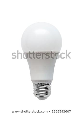 Energia bulbo diodo luz tecnologia Foto stock © ozaiachin