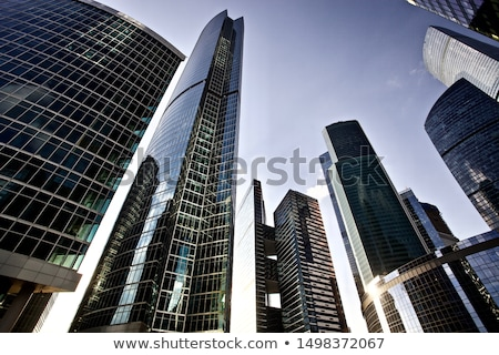 building high-rise buildings Stock photo © OleksandrO
