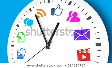 Time be Social Stock photo © tab62