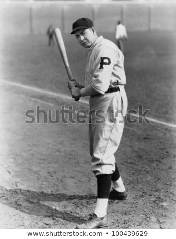 肖像 野球 スタンス 小さな 白 男性 ストックフォト © wavebreak_media