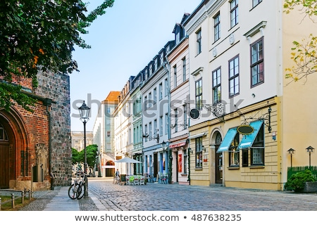 Historic building in Berlin Stock photo © elxeneize