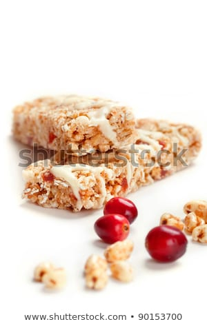 gabonapehely · rácsok · fehér · csokoládé · izolált · bár - stock fotó © raphotos