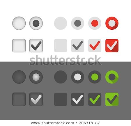 Gomb kiválasztott közelkép üzlet billentyűzet fekete Stock fotó © Kurhan