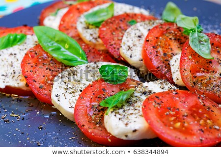 Tomate Mozzarella ストックフォト © Moradoheath