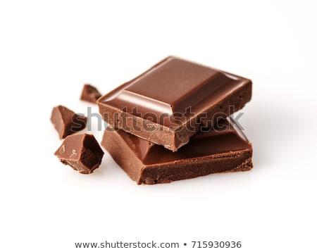 キャンディ · バー · チョコレートバー · 孤立した · 白 · 食品 - ストックフォト © nenovbrothers