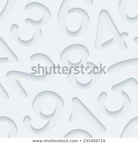 Modern Abstract Numbers Background Stok fotoğraf © ALMAGAMI
