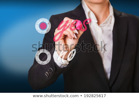 selection is made in a positive way Stock photo © OleksandrO