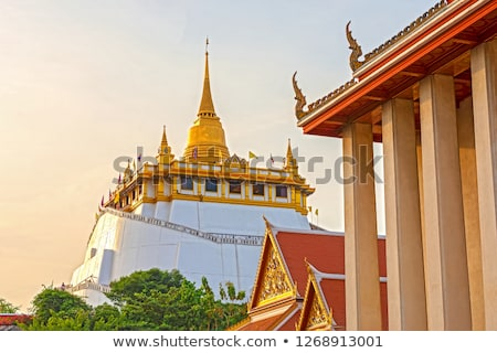 Buda görüntü ibadet antika anlamaya Laos Stok fotoğraf © sundaemorning