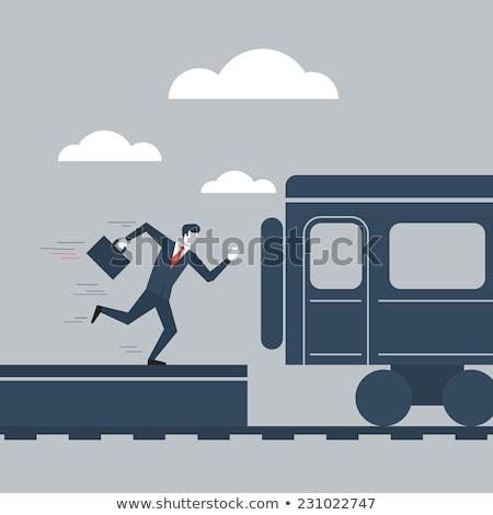 Elveszett lehetőségek üzlet munka papírok terv Stock fotó © Sarkao