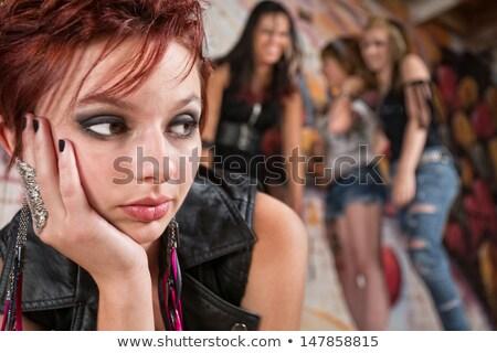 portret · sexy · fitness · vrouw · naar · camera - stockfoto © dash