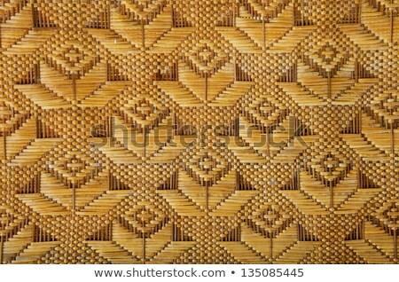 beautiful square bamboo texture Stock photo © jarin13