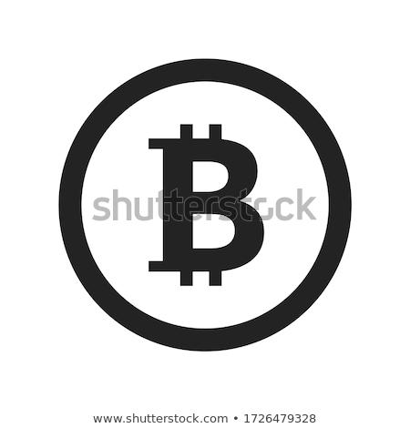 ビット · コイン · ベクトル · アイコン · デザイン - ストックフォト © nickylarson974