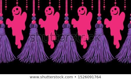 Fantasmas abstrato quadro cor projeto Foto stock © aliaksandra