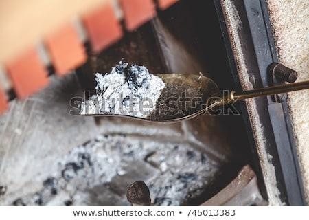 ржавые · лопатой · стране · куча · строительство · саду - Сток-фото © taviphoto