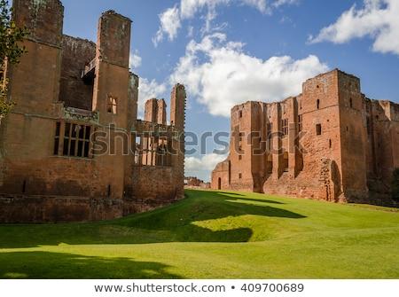 kastély · Anglia · romok · legjobb · otthon · nagyszerű - stock fotó © siavramova