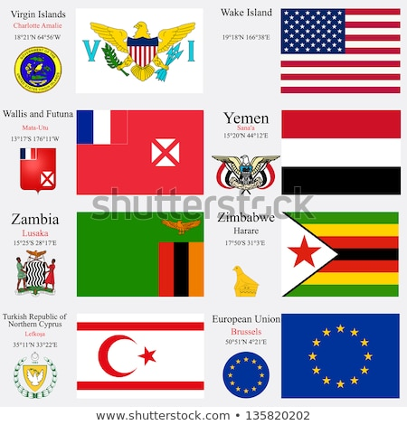 European Union and Wake Island Flags  Stock photo © Istanbul2009