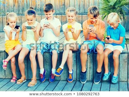 children immersion Stock photo © adrenalina