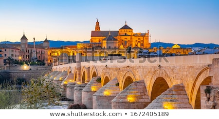 mecset · katedrális · Spanyolország · belső · nagyszerű · LA - stock fotó © vichie81