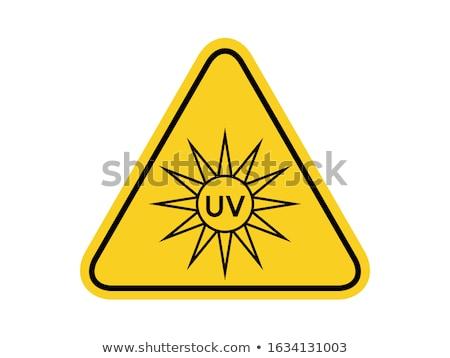 Alert Sign Violet Vector Icon Design Stock photo © rizwanali3d