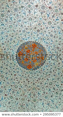 Ceiling Painting In Mosque Stock photo © cosma