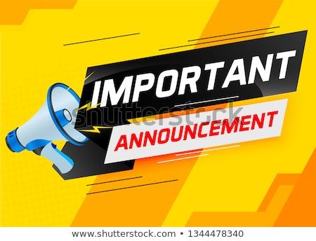 Very important message Stock photo © fuzzbones0