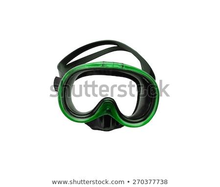 green diving mask Stock photo © shutswis