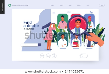 Find A doctor Stock photo © Lightsource