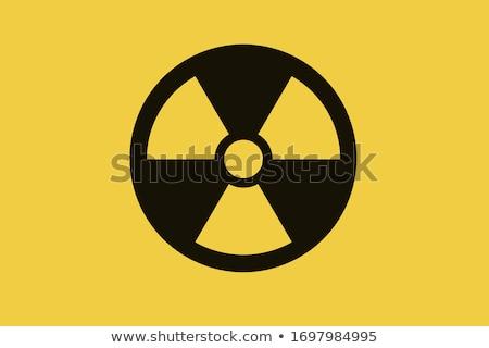注意 放射性 放射線 にログイン 黄色 黒 ストックフォト © Bigalbaloo