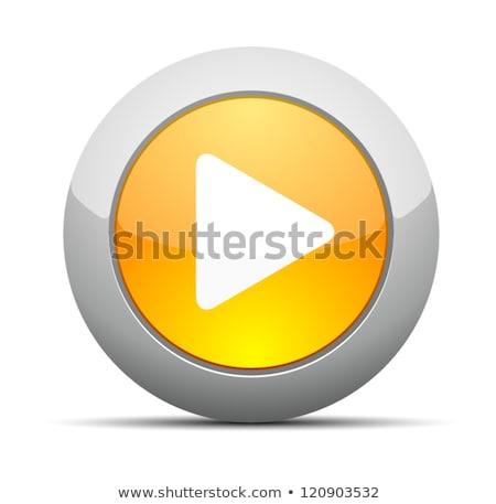 Mp3 скачать желтый вектора икона кнопки Сток-фото © rizwanali3d