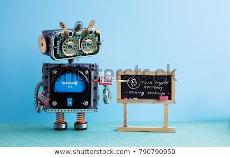 Stockfoto: Leren · marketing · schoolbord · boeken