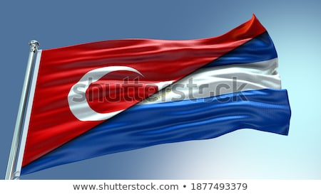 Turkey and Nicaragua Flags  Stock photo © Istanbul2009