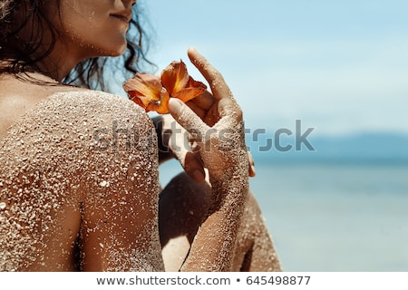 Close Up Of Woman On Resort In Spa Stock photo © dash