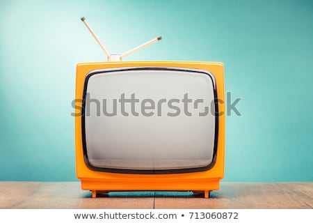 Retro TV set Stock photo © Nobilior