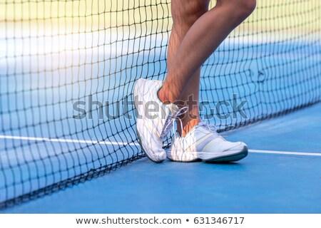 вид · сбоку · молодые · Sexy · Фитнес-женщины · спортивная · одежда · изолированный - Сток-фото © filipw