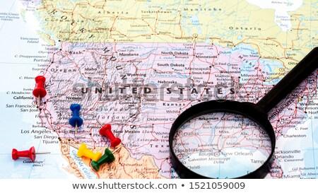 The Americas in focus Stock photo © idesign