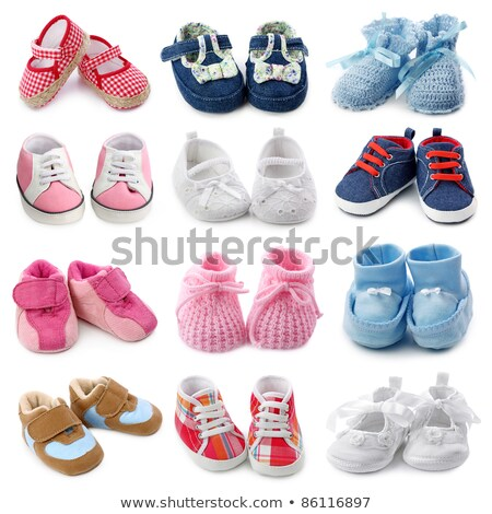 baby shoes for girl stock photo © adrenalina