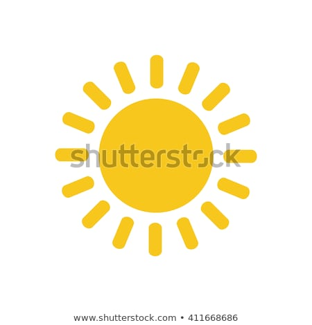 Rounded buttons with a Sun Stock photo © bluering
