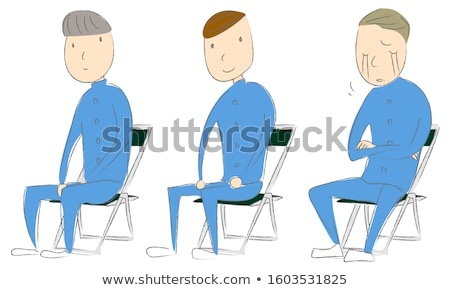 Three sketches of a boy graduating Stock photo © bluering