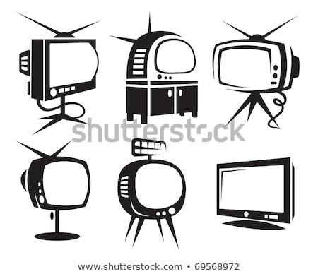 six television icons Stock photo © nickylarson974