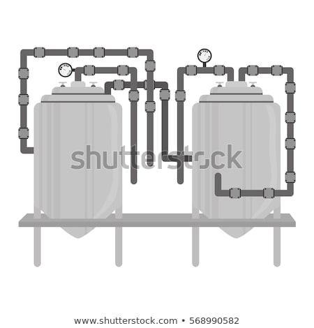 Tank Modern vector illustration clip-art image Stock photo © vectorworks51