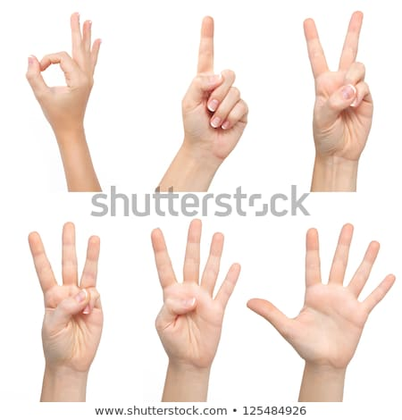 select number one business concept stock photo © stevanovicigor